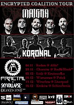 Encrypted Coalition Tour: Maigra / Koronal / Fractal Kraków