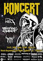 Planet Hell, Indignity, Slaves of Evil - Death Metal Into Space Rybnik