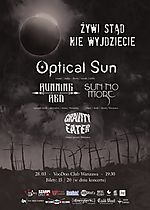 Optical Sun (Release Party) + Running Red / Sun No More / Gravity Eater Warszawa