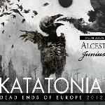 Katatonia, Progresja, Dead End Kings, Alcest, Junius, koncert