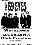 The 69 Eyes, gothic rock, koncert, Warszawa
