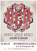Dance Gavin Dance, Closure In Moscow, The Elijah, Climates, Koncerty, post hardcore, rock