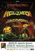Helloween, Koncerty, speed metal, Gamma Ray, Shadowside, Hellish Rock Part II, power metal