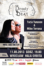 Beauty and the Beat, Tarjia Turunen w Polsce, Nightwish, Koncerty,