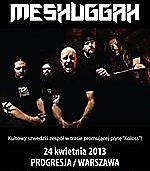 Meshuggah, Decapitated, progressive metal, Technical Thrash Metal, Kraków, Kwadrat, koncert