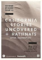 California Stories Uncovered, Hatifnats, Koncert, post rock, ambient, indie pop, Warszawa