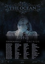 Tides From Nebula, The Ocean, Shining, Hacride, Koncerty, sludge metal
