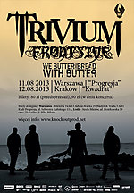 Trivium, koncerty, Frontside, Knockout Productions,
