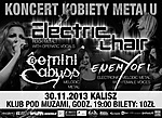 Kobiety Metalu, Electric Chair, Gemini Abyss, Enemy of I, koncert, konkurs, metal