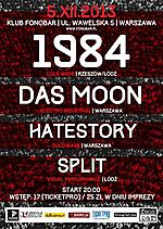 1984, Das Moon, Hatestory, Split, zimna fala, post punk, rock, electro, cold wave