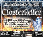 Closterkeller, Anja Orthodox, Rock Gotycki, Koncerty, gothic rock