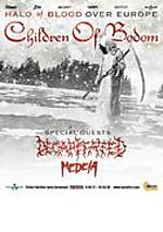Children Of Bodom, Decapitated, Medeia, Klub Studio