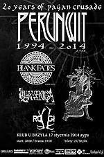 Perunwit, pagan, folk, Blank Faces, Lilla Veneda, black metal, death metal, Rogi, Koncerty