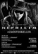 Fields Of The Nephilim, gothic rock, Closterkeller, Digital Angel, Deathcamp Project, electropop, deathrock, rock gotycki