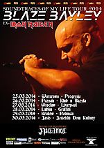 Blaze Bayley, Soundtracks Of My Life Tour 2014, Iron Maiden, Iron Realm Productions