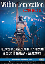 Within Temptation, Koncerty, Hydra, symphonic metal, symphonic rock, gothic metal