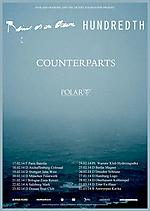 Hundredth, Being As An Ocean, Counterparts, Polar, Koncerty, hardcore, punk, rock, rock'n'roll