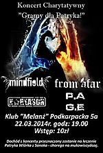 From Afar, Mindfield, P.A.G.E., TheReason, Maniacal Miscreation, Koncerty, metal