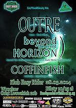 Outre, Beyond the Event Horizon, Coffinfish, metal, black metal, progressive rock, instrumental, sludge metal