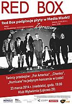 Red Box, alternative, acoustic, synthpop