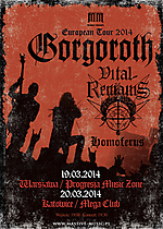 Progresja Music Zone, Gorgoroth, Homoferus, Vital Remains, Under The Sign Of Hell, Destroyer, Incipit Satan, Let Us Pray, Dawn Of The Apocalypse, Forever Underground, Dechristianize, Icons Of Evil