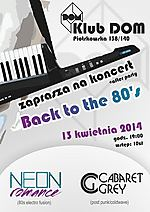 Back to the 80's, Neon Romance, Cabaret Grey, post punk, coldwave
