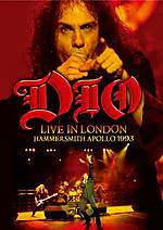 Dio, Live In London: Hammersmith Apollo 1993, metal, heavy metal, Mystic Production