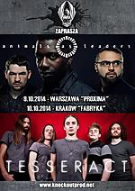 Animals As Leaders, Tesseract, progmetal, rock progresywny, Koncerty, fusion