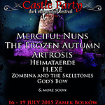 Castle Party, Castle Party 2015, Merciful Nuns, The Frozen Autumn, Artrosis, Heimaterde, H.EXE, Zombina and the Skeletones, God's Bow