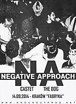 The Dog, Castet, Negative Approach, hardcore, hardcore punk