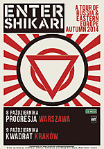 Enter Shikari, post hardcore, alternative metal, electronicore
