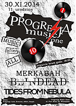 11. Urodziny Progresji, Tides From Nebula, Blindead, Merkabah, metal, post metal, alternative rock, post rock