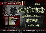 Blood Mantra Tour, Decapitated, Thy Disease, Materia, The Sixpounder