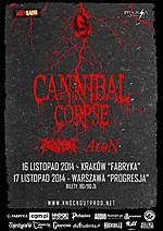 Cannibal Corpse, death metal, metal, thrash metal, Revocation, Aeon