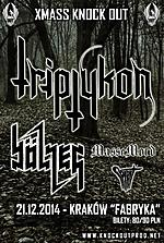 X Mass Knock Out, Triptykon, Bolzer, Massemord, Spirit, doom metal, death metal, black metal, alternative metal