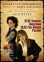 Anneke van Giersbergen, Ajren Lucassen, The Gathering, The Gentle Storm, The Gentle Storm Acoustic Tour 2015, Agua de Annique, The Diary