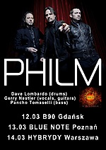 Philm, thrash metal, heavy metal, speed metal, Dave Lombardo, Slayer, rock
