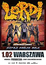 Lordi, hard rock, horror rock, Palace, Sinheresy, Scare Force One, Scare Force One Tour