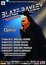 Blaze Bayley, Iron Maiden, Soundtracks of My Life - Live in Prague 2014, heavy metal, metal