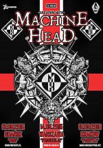 Machine Head, metal, thrash metal, nu metal, groove metal, alternative metal, Robb Flynn