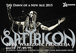 Satyricon, Progresja, Norwegia, Warszawa, koncert, The Dawn of a New Age 2015, Oslo Faenskap​, Vredehammer​, Satyr, Frost