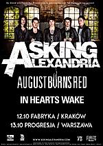 Asking Alexandria, August Burns Red, In Hearts Wake, heavy metal, hardcore, metal, post hardcore