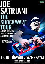 Dan Patlansky, Joe Satriani, Shockwave Supernova, hard rock, jazz rock, rock instrumentalny, The Shockwave Tour