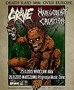 Grave, Malevolent Creation, death metal, Out of Respect For The Dead, Dead Man's Path