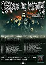 Cradle of Filth, metal, black metal, Hammer of the Witches, symphonic metal