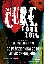 The Cure, The Cure Tour 2016, Robert Smith, gothic rock, new wave, cold wave, post punk