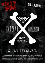 Return To The Batcave, 1984, KatzKab, Der Himmel Über Berlin, Huta Plastiku, gothic rock, batcave, deathrock, post punk, zimna fala