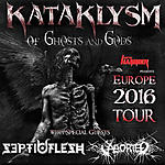 Progresja, Aborted, Septicflesh, Kataklysm, Spiros, Communion, The Great Mass, Of Ghosts And Gods, Svencho, Maurizio Iacono, Cymer, Symbolical