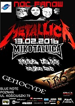 koncert,metallica,blue note