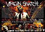 Virgin Snatch, Ten Years In Blood Tour 2016, thrash metal, death metal, In The Name Of Blood
